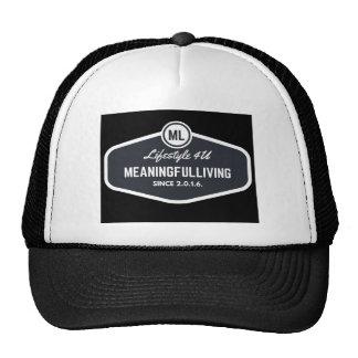 MeaningfulLiving sign logo Trucker Hat