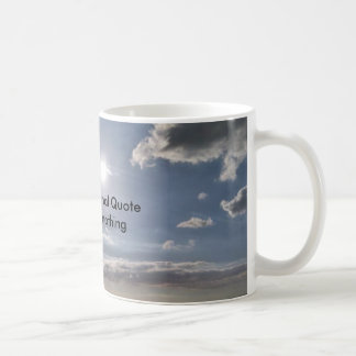 Meaningless Quote Mug