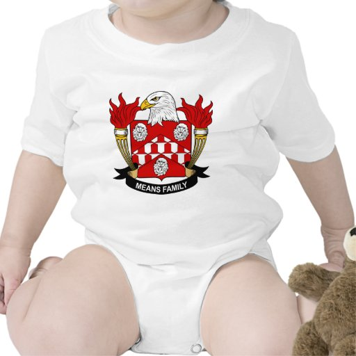 Means Family Crest Romper