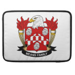 Means Family Crest Sleeve For MacBooks