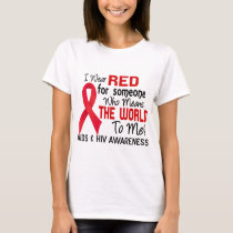 Means The World To Me 2 AIDS T-Shirt