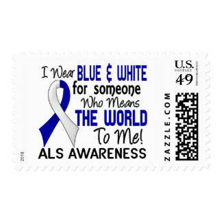 Means The World To Me 2 ALS Postage Stamps