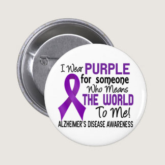 Means The World To Me 2 Alzheimer's Disease Button
