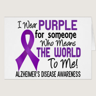 Means The World To Me 2 Alzheimer's Disease Card