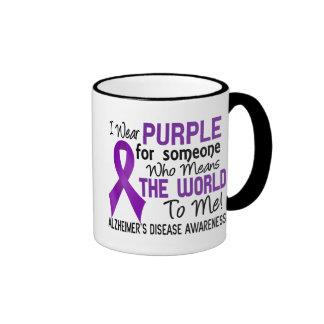 Means The World To Me 2 Alzheimer's Disease Ringer Coffee Mug