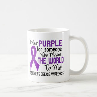 Means The World To Me 2 Alzheimer's Disease Classic White Coffee Mug
