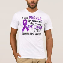 Means The World To Me 2 Alzheimer's Disease T-Shirt