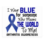 Means The World To Me 2 Arthritis Post Cards