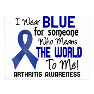 Means The World To Me 2 Arthritis Postcard