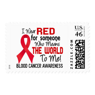 Means The World To Me 2 Blood Cancer Stamps