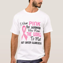 Means The World To Me 2 Breast Cancer T-Shirt