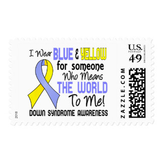 Means The World To Me 2 Down Syndrome Postage Stamp