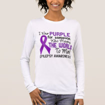 Means The World To Me 2 Epilepsy Long Sleeve T-Shirt