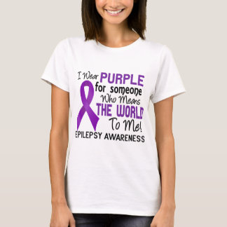 Means The World To Me 2 Epilepsy T-Shirt