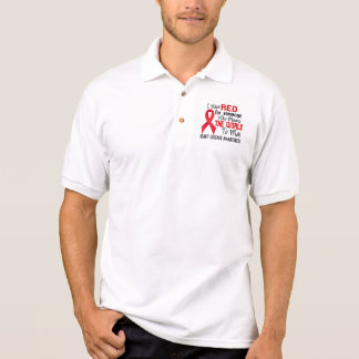 Means The World To Me 2 Heart Disease Polo T-shirt