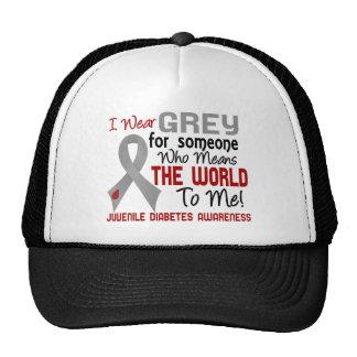 Means The World To Me 2 Juvenile Diabetes Mesh Hat