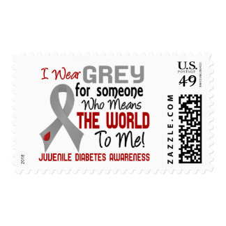 Means The World To Me 2 Juvenile Diabetes Postage Stamp