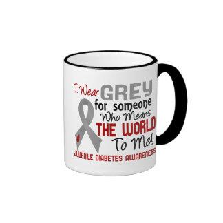 Means The World To Me 2 Juvenile Diabetes Ringer Coffee Mug