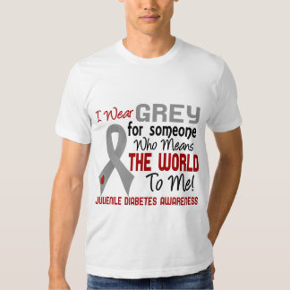 Means The World To Me 2 Juvenile Diabetes T-shirts