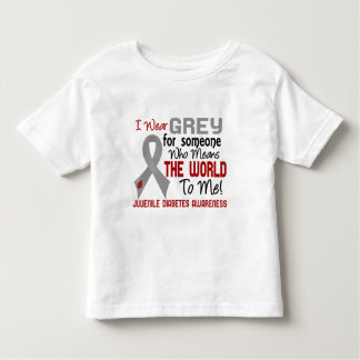 Means The World To Me 2 Juvenile Diabetes Tee Shirt