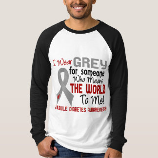 Means The World To Me 2 Juvenile Diabetes Tshirt