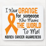 Means The World To Me 2 Kidney Cancer Mouse Pad