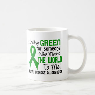 Means The World To Me 2 Kidney Disease Classic White Coffee Mug