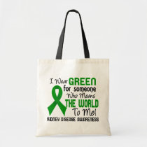 Means The World To Me 2 Kidney Disease Tote Bag