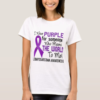 Means The World To Me 2 Leiomyosarcoma T-Shirt