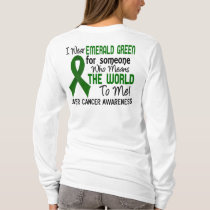 Means The World To Me 2 Liver Cancer T-Shirt