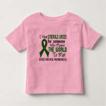 Means The World To Me 2 Liver Disease Toddler T-shirt