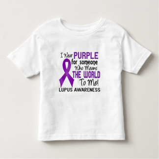 Means The World To Me 2 Lupus Toddler T-shirt