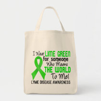 Means The World To Me 2 Lyme Disease Tote Bag