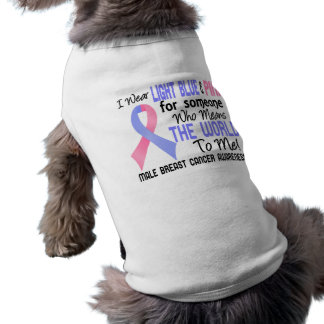 Means The World To Me 2 Male Breast Cancer Pet T-shirt