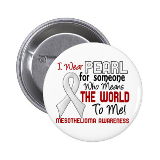 Means The World To Me 2 Mesothelioma Button