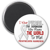 Means The World To Me 2 Mesothelioma Magnet