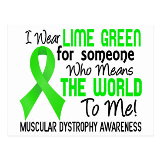 Means The World To Me 2 Muscular Dystrophy Postcard