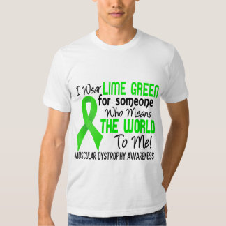 Means The World To Me 2 Muscular Dystrophy Tee Shirt
