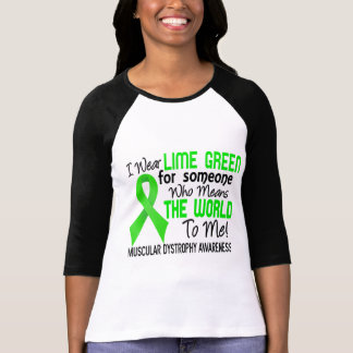 Means The World To Me 2 Muscular Dystrophy Tees