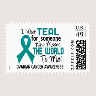 Means The World To Me 2 Ovarian Cancer Postage