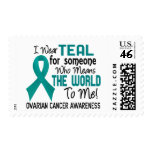 Means The World To Me 2 Ovarian Cancer Postage Stamp