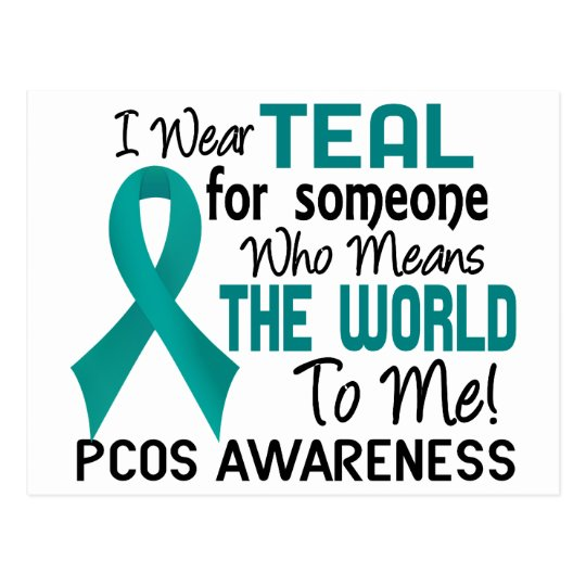 Means The World To Me 2 PCOS Postcard