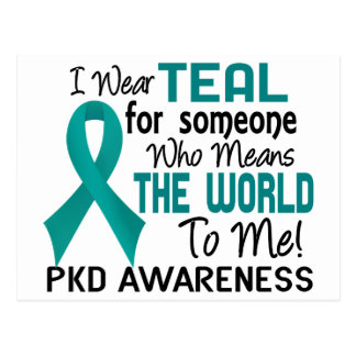 Means The World To Me 2 PKD Postcard