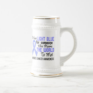 Means The World To Me 2 Prostate Cancer 18 Oz Beer Stein