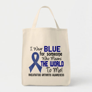Means The World To Me 2 Rheumatoid Arthritis Grocery Tote Bag