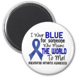 Means The World To Me 2 Rheumatoid Arthritis Refrigerator Magnets