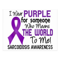 Means The World To Me 2 Sarcoidosis Postcard