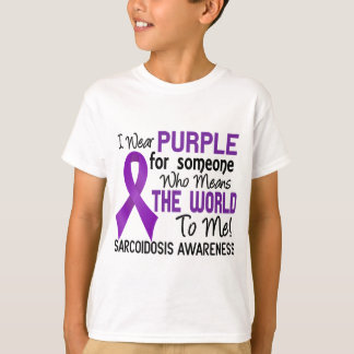 Means The World To Me 2 Sarcoidosis T-Shirt