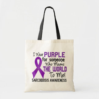Means The World To Me 2 Sarcoidosis Tote Bag
