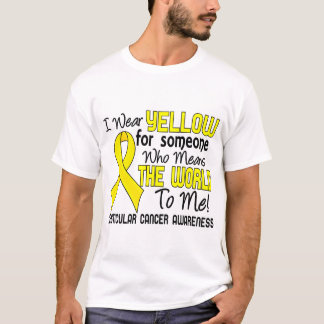 Means The World To Me 2 Testicular Cancer T-Shirt